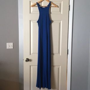 •Rolla Coster• Size small NWOT blue maxi dress